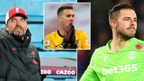 Klopp bác bỏ tin Liverpool chiêu mộ thủ thành hạng Nhất, vẫn đặt niềm tin vào Adrian