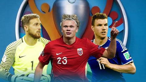 Haaland, Dzeko, Oblak và những ngôi sao ngồi nhà xem EURO 2020