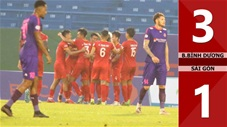 B.Bình Dương 3-1 Sài Gòn FC (vòng 2 giai đoạn 2 V-League 2020)