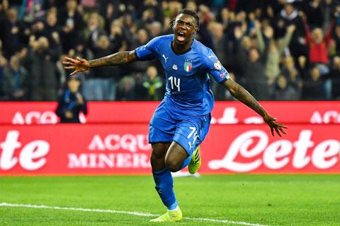 Kean sẽ tỏa sáng giúp ĐT Italia đánh bại đối thủ mạnh Hà Lan