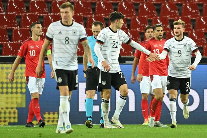 Havertz và Werner tỏa sáng để mang về 2 bàn gỡ