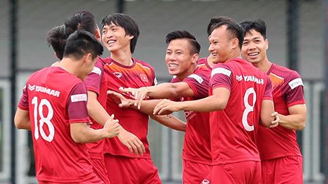Đội tuyển Việt Nam dự kiến tập trung giữa tháng 11