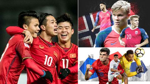 Mỹ, Na Uy, Việt Nam & những đội tuyển hứa hẹn sẽ bùng nổ trong tương lai