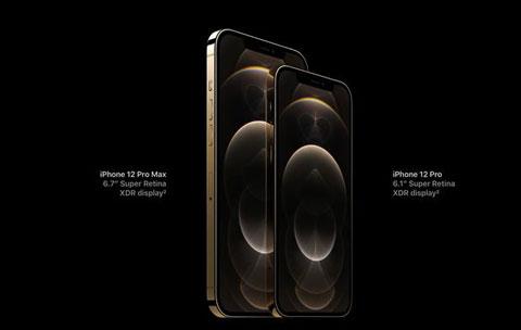iPhone 12 Pro và iPhone 12 Pro Max. Ảnh: Internet