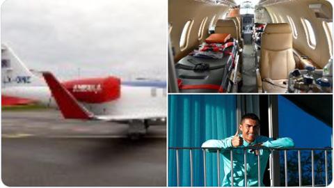 Ronaldo trở lại Italia trên máy bay tư nhân sau khi mắc Covid-19