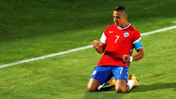 Sanchez ghi bàn nhưng Chile không thể thắng Colombia