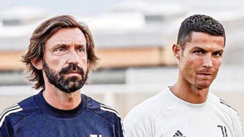 Pirlo sẽ điều chỉnh gì khi Juventus vắng Ronaldo?