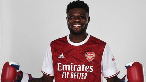 Partey ra mắt Arsenal cứ như thể sắp thượng đài