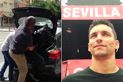 Navas ra mắt Sevilla như phim hành động