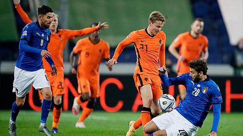 Những điểm nhấn đại chiến Italia 1-1 Hà Lan
