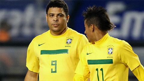 Ronaldo nhắn nhủ Neymar đôi lời sau khi bị đàn em qua mặt