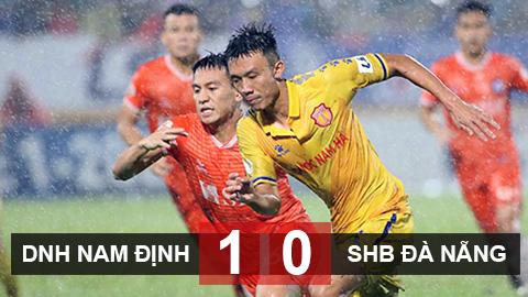 DNH Nam Định 1-0 SHB Đà Nẵng: Tiến gần mục tiêu trụ hạng