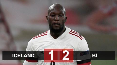Kết quả Iceland 1-2 Bỉ: Lukaku lập cú đúp, Bỉ đẩy Iceland xuống hạng