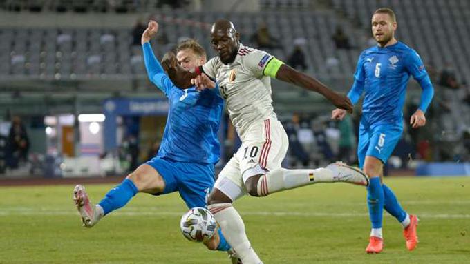 Lukaku mở tỷ số cho Bỉ ngay phút thứ 9
