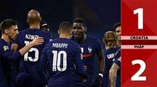 Croatia 1-2 Pháp (Bảng A3 Nations League 2020/21)