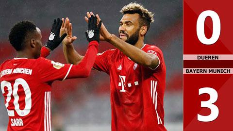 Dueren 0-3 Bayern Munich (Vòng 1 Cúp Quốc gia Đức 2020/21)
