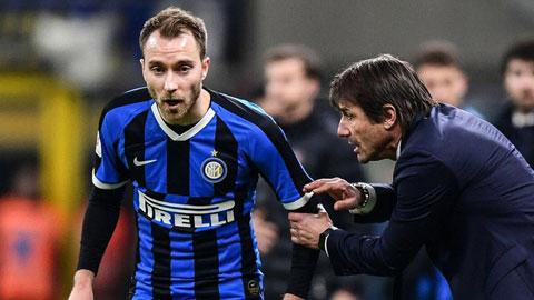 Một ngày trước Derby Milan: Conte cần câu trả lời từ Eriksen