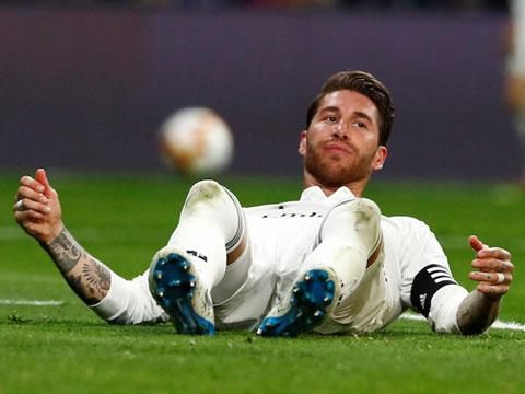 Ramos của Real là người dính chấn thương và chịu quá tải do thi đấu quá nhiều