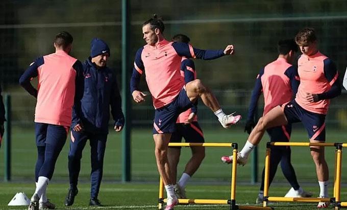 Bale đã sẵn sàng ra sân ở Tottenham