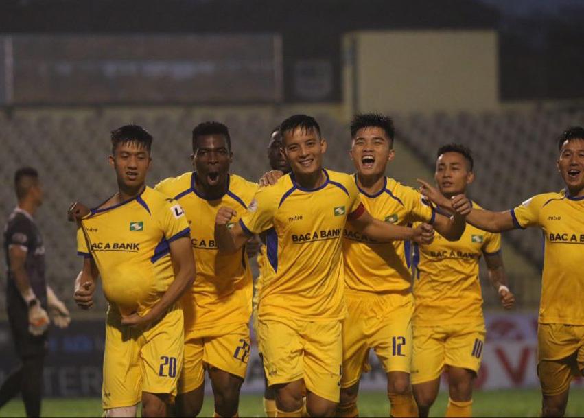 SLNA vượt qua Hải Phòng 1-0 để trụ hạng sớm 3 vòng đấu