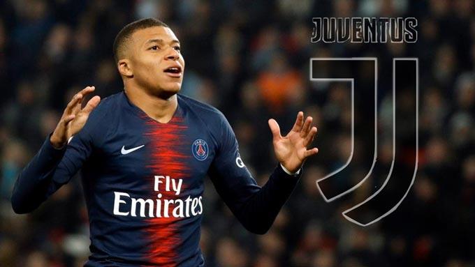 Mbappe là canh bạc đắt giá mà Juventus muốn thực hiện vào mùa Hè 2021