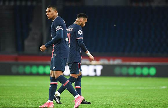 Neymar và Mbappe sẽ thi đấu ở trận gặp M.U?