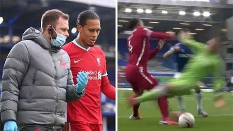 Klopp cười khẩy trọng tài, cập nhật tình hình chấn thương của Van Dijk