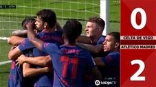 Celta Vigo 0-2 Atletico Madrid (Vòng 6 - La Liga 2020/21)