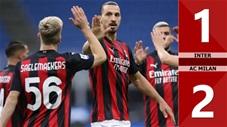 Inter 1-2 AC Milan (vòng 4 Serie A 2020/21 )