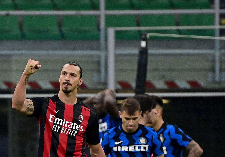 Anh đã giúp Milan có chiến thắng trước đối thủ sau hơn nửa thập niên