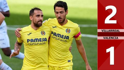 Villarreal 2-1 Valencia (vòng 6 La Liga 2020/21)