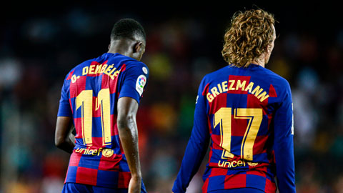 Antoine Griezmann & Ousmane Dembele: Thử thách lòng kiên nhẫn của Koeman