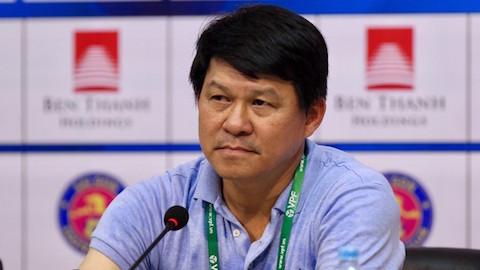 HLV Vũ Tiến Thành không hài lòng với kết quả trận derby TP.HCM