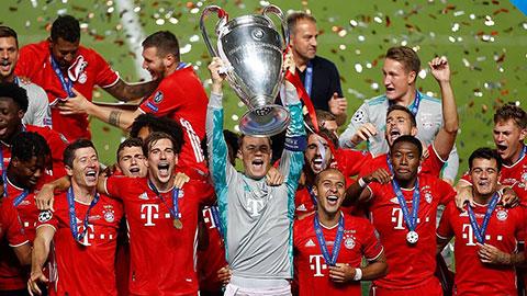 Man City và Bayern là ứng viên số 1 vô địch Champions League