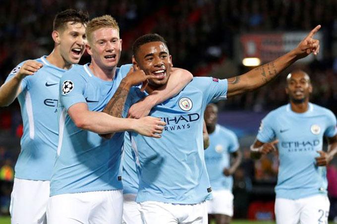 Man City được đánh giá cao ở khả năng vô địch