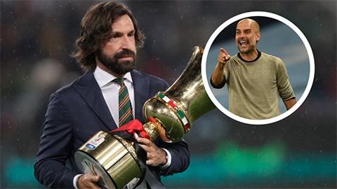 Pirlo thừa nhận lấy Pep Guardiola là hình mẫu