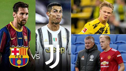 M.U, Ronaldo, Messi, Haaland & những điều đáng chờ đợi ở Champions League