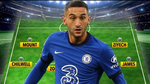 Chelsea có thể ra sân với đội hình nào ở trận gặp Sevilla?