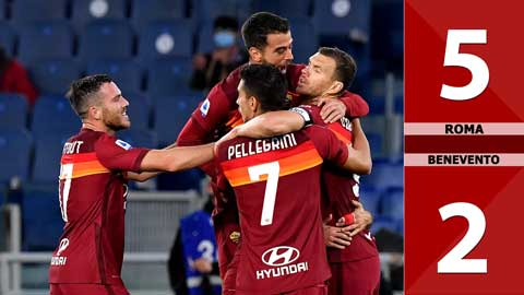 AS Roma 5-2 Benevento (Vòng 4 Serie A 2020/21)