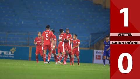Viettel 1-0 Bình Dương (Vòng 3 giai đoạn 2 V-League 2020)