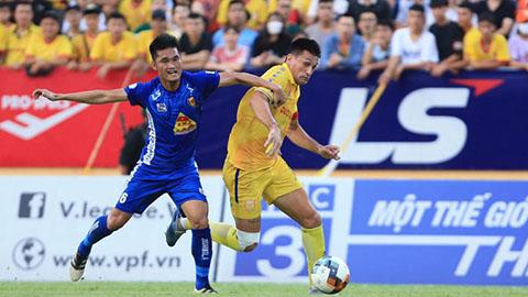 Trực tiếp Quảng Nam vs DNH Nam Định, Hải Phòng vs Thanh Hóa, SHB.ĐN vs SLNA