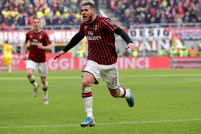 Milan đang hồi sinh cùng đội hình giàu sức trẻ