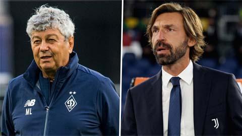 Dinamo Kiev vs Juventus: Ngày Pirlo đối đầu với thầy cũ Lucescu