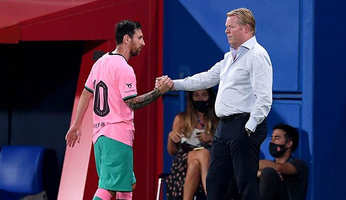 Messi sẽ giúp năm đầu của Koeman tại Barca thành công?