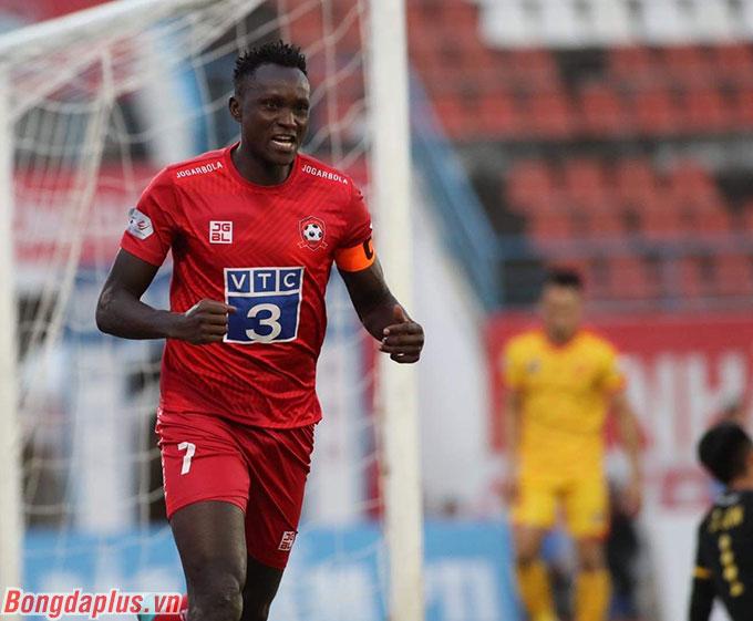 Mpande trở thành nhân vật chính của Hải Phòng với cú đúp bàn thắng vào lưới Thanh Hoá, qua đó đảm bảo chiến thắng cho Hải Phòng