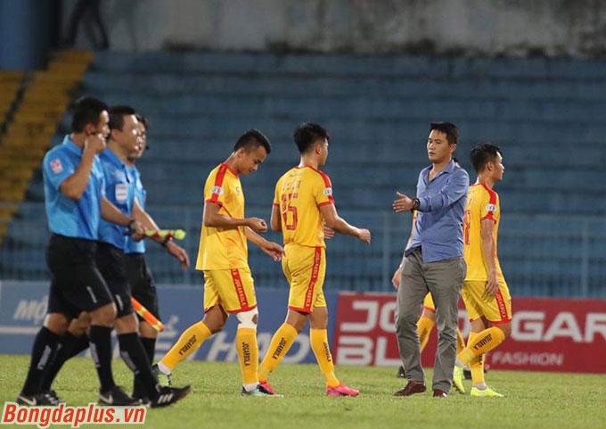 Với Thanh Hoá, họ không còn mục tiêu khi đã trụ hạng từ trước đó