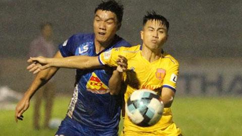 V.League: Quảng Nam, Nam Định, Hải Phòng còn bao nhiêu cơ hội trụ hạng?