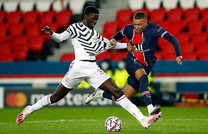 Tuanzebe nói riêng và M.U nói chung đã chơi một trận tuyệt hay trước PSG