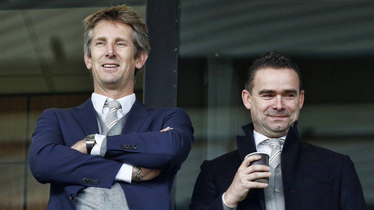 Tổng giám đốc Edwin van der Sar và Giám đốc Marc Overmars chính là hai người kiến tạo nên con đường vinh quang mới