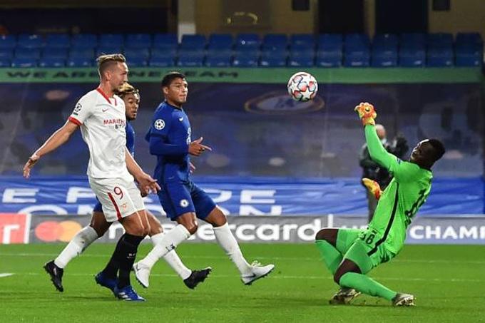 Sự trở lại của Thiago Silva và Mendy giúp hàng thủ Chelsea đứng vững trước những đợt tấn công nguy hiểm của Sevilla